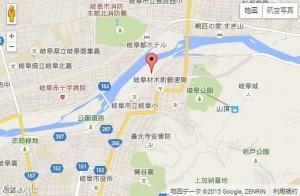 長良川花火地図